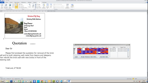 FX Currency Meter with Microsoft Word