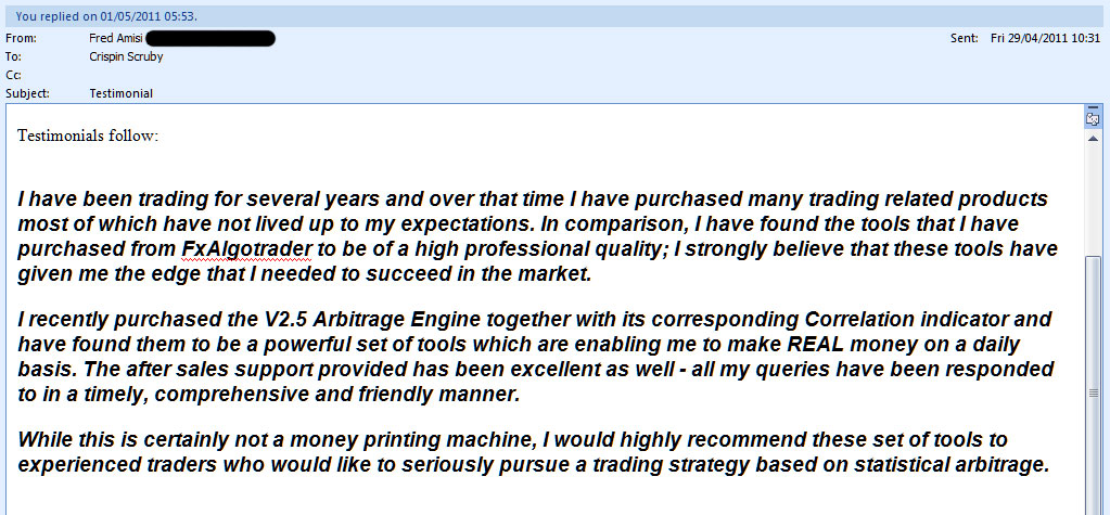 10% Equity Growth Per Month from Statistical Arbitrage for MetaTrader MT4