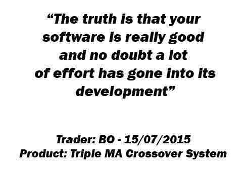 Triple Moving Average Crossover System